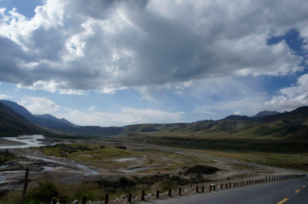 En route in Qinghai